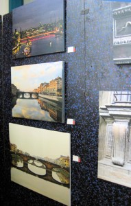 Images of Thames and Arno Rivers