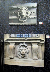 Top image is from Paris and bottom from Pitti Palace in Florence