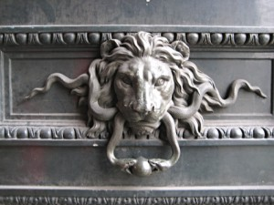 Detail from building in Paris