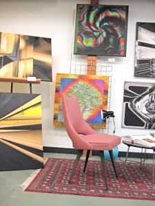 geometric, abstract pieces