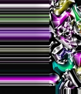 fleuron image with jewel tones