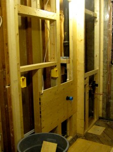 With only ten days left, framing in and electrical moves forward