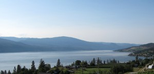 summer on Okanagan Lake
