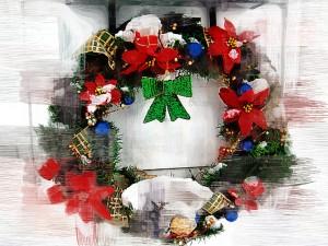 christmas wreath 08