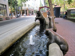 public art at fountains