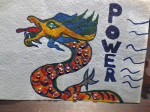 Embracing the Power Dragon