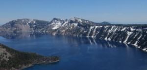 crater lake tranquility from violence