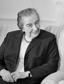 Golda Meir, Prime Minister, Israel